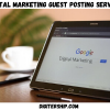 Digital Marketing Guest Posting services