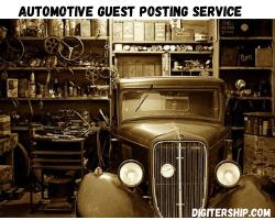 Automotive Guest Posting service