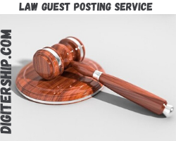 Law Guest Posting Service